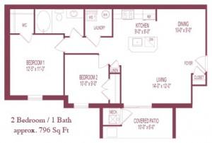 The Carington Floor Plan