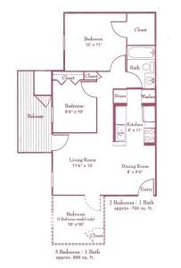 The Ellington Floor Plan