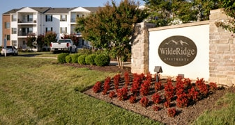 WildeRidge Apartments Main Sign