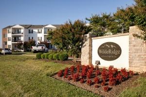 WildeRidge Apartments Sign 1