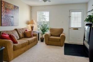 WildeRidge Apartments Unit Living Room
