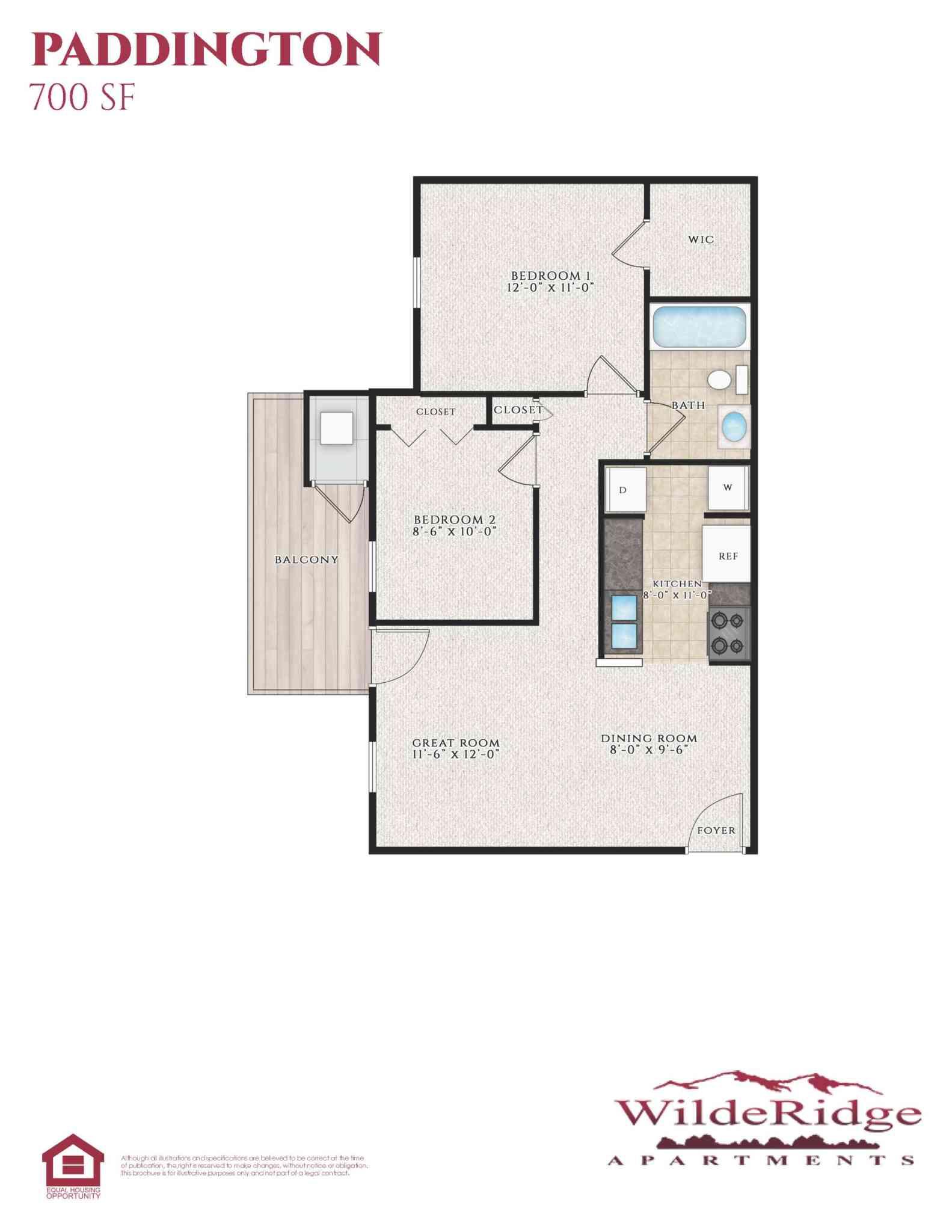 The Paddington Floor Plan
