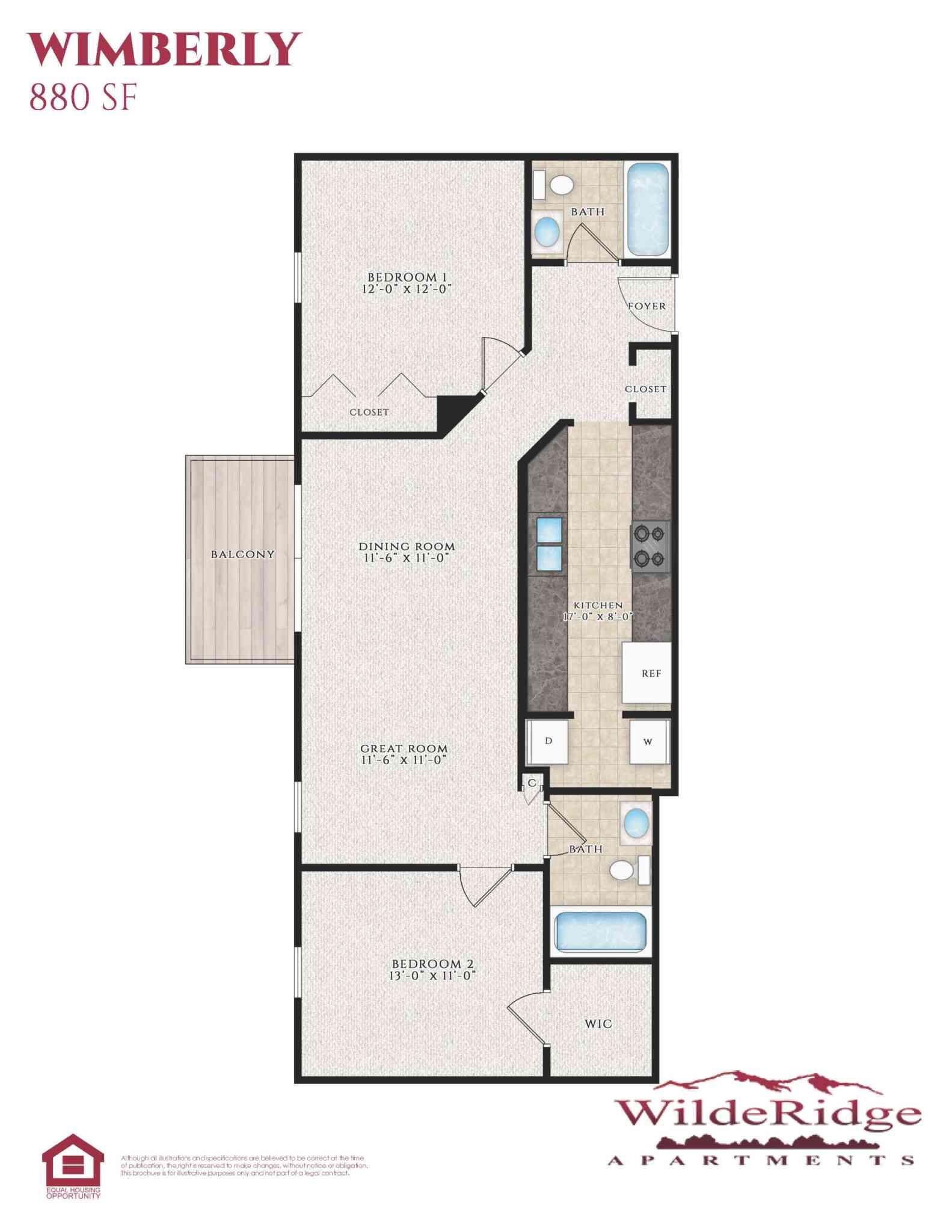 The Wimberly Floor Plan